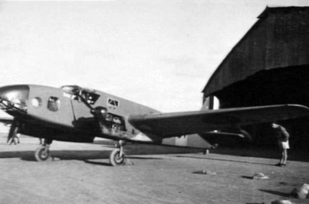 Caproni Ca.309 Ghibli World War II fighter aircraft