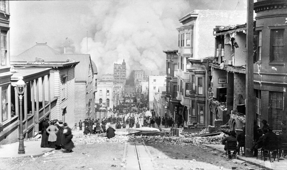 Great 1906 San Francisco earthquake