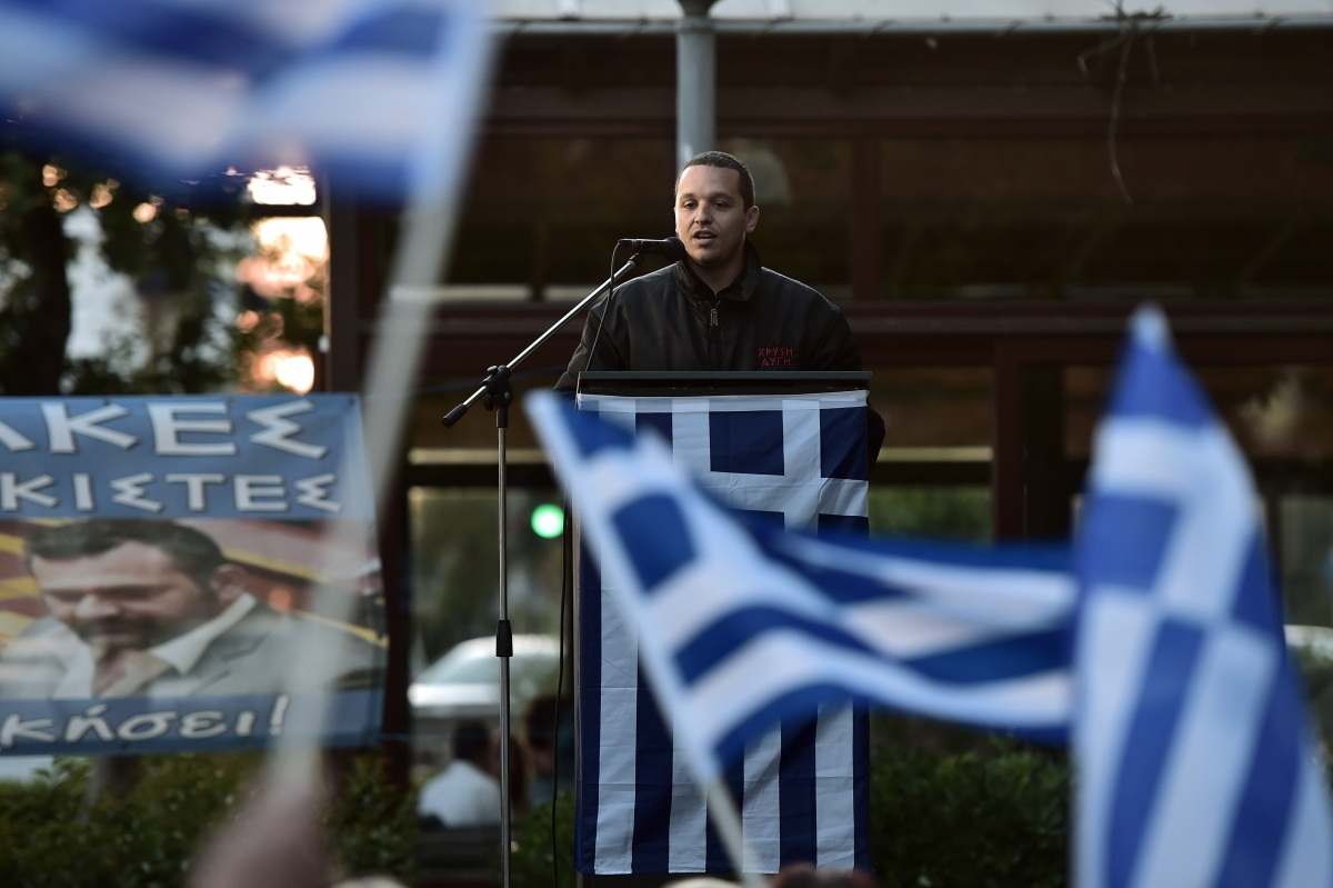 Greece Neo-Nazi Golden Dawn Local Elections Athens Ilias Kasidiaris