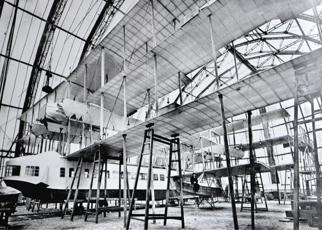 Caproni Ca.60, the ambitious boat plane that failed miserably