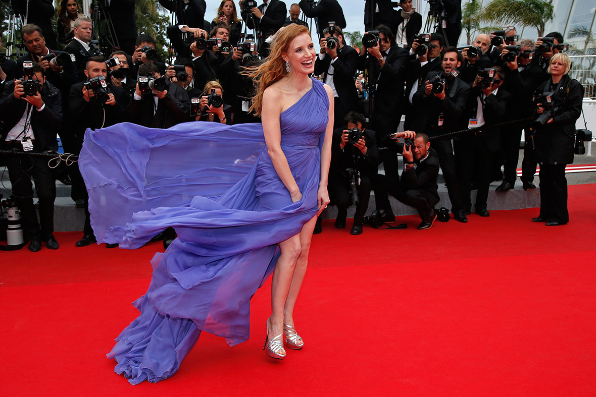 cannes jessica chastain