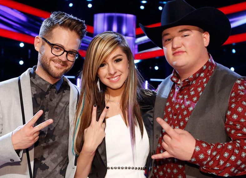 The Voice season 6 winner will be announced on 20 May on NBC at 8 p.m. EST.