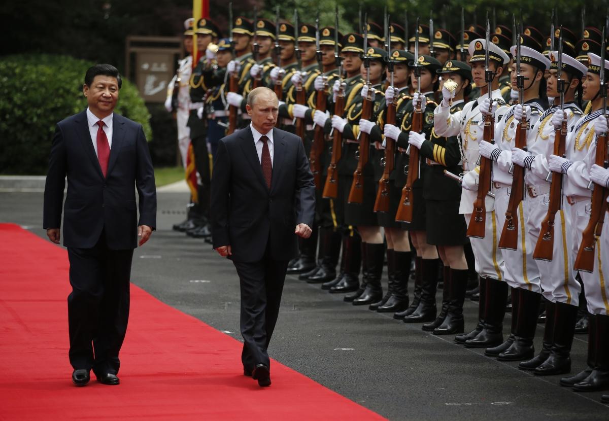 Putin Jinping Shanghai