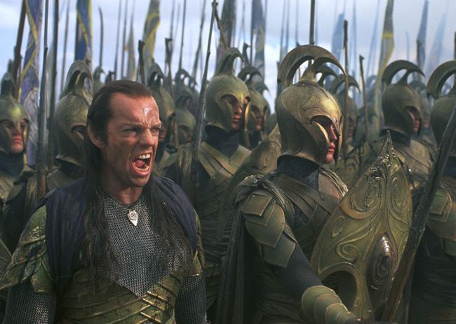 Elven warriors from the First Age in Lord of the Rings