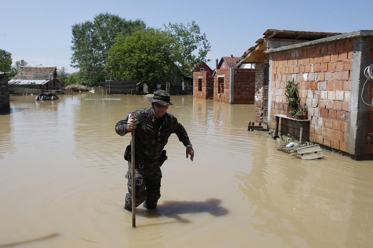 Evacuated, Flood-Hit Obrenovac Becomes Ghost Town