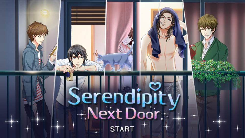 Serendipity Next Door - an Otome romance dating simulator smartphone game designed for women