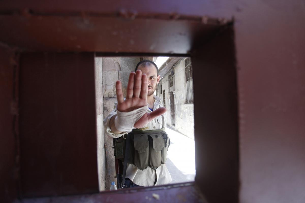 Torture, Cruelty Death Damascus Assad troops