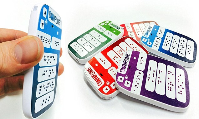 OwnFone has launched a Braille phone that is made using 3D printing