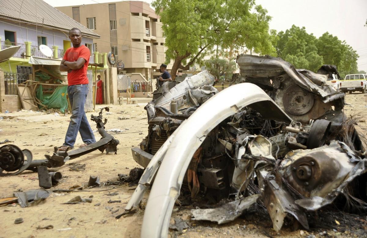 Nigeria Jos market blasts
