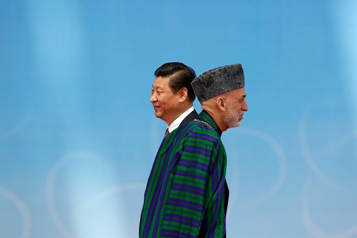 afghan china