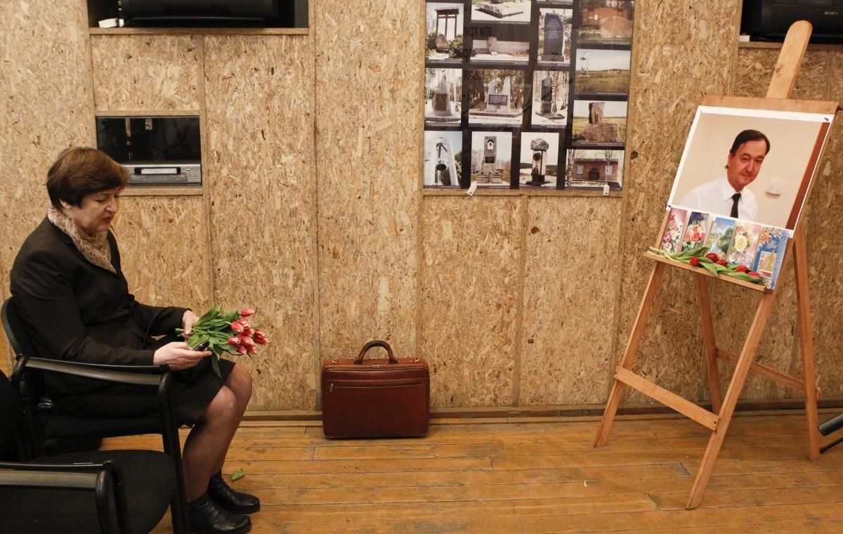 Nataliya Magnitskaya mother of Sergei Magnitsky