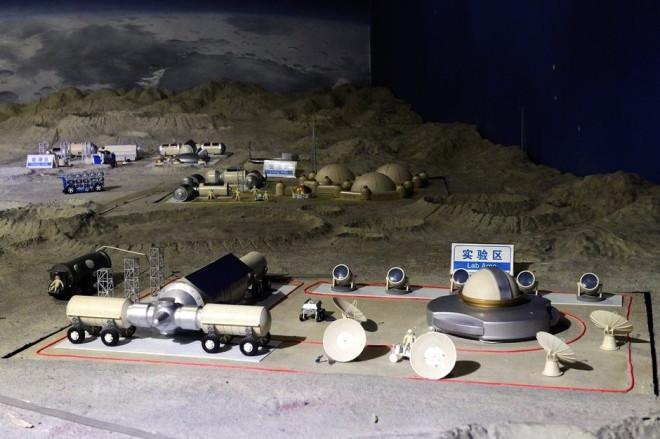 China's first planned moon base, Yuegong-1 (Moon Palace-1)
