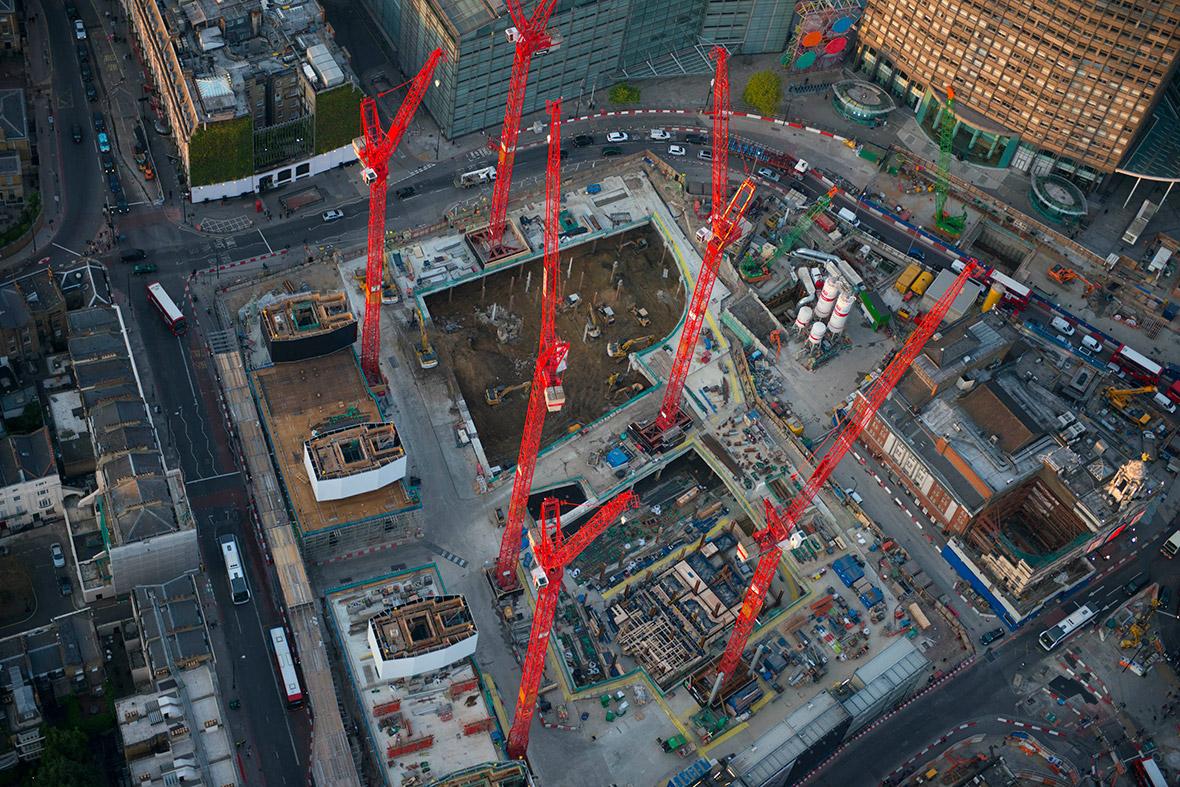 Victoria regeneration works for the London Underground