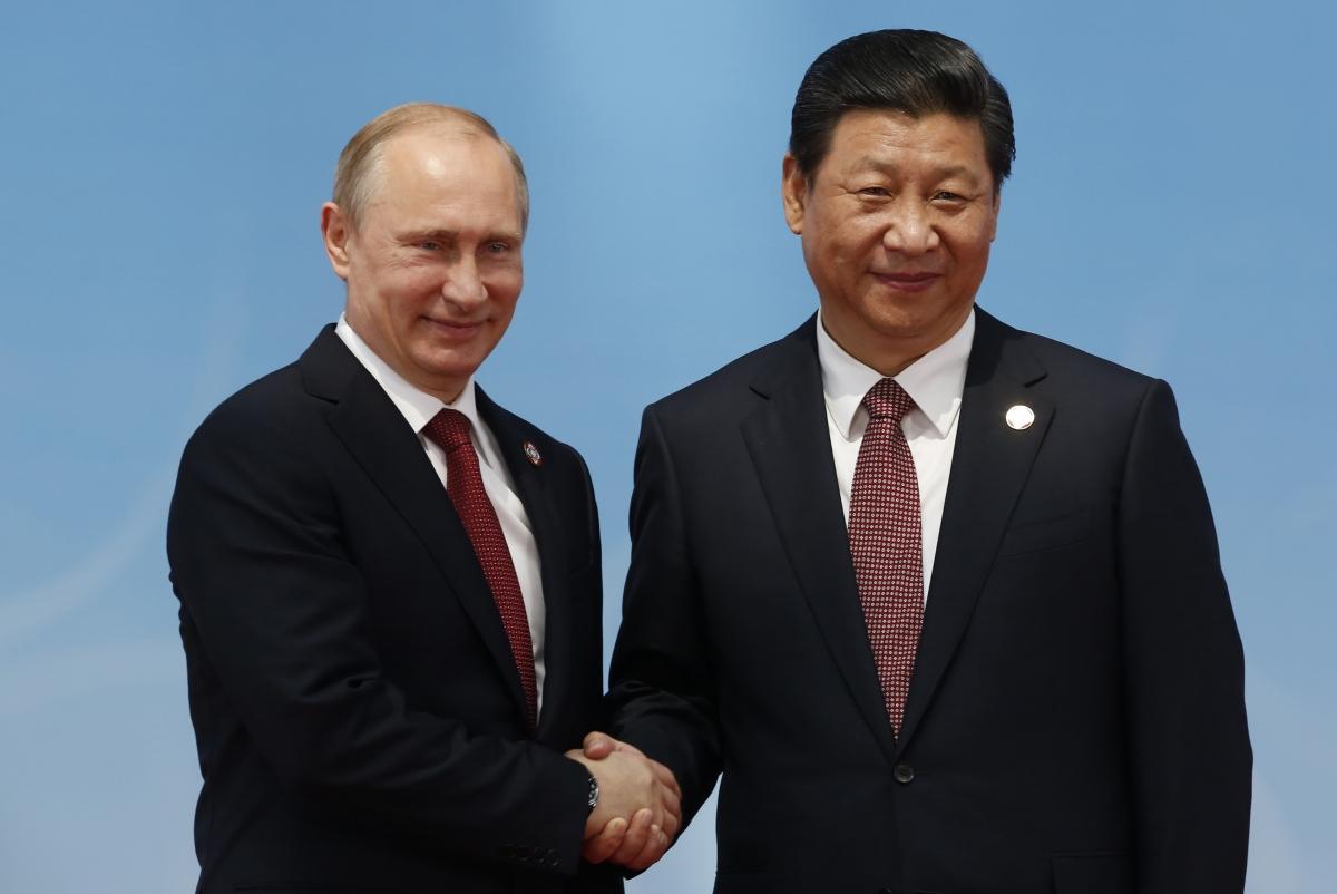 Vladimir Putin Xi Jinping