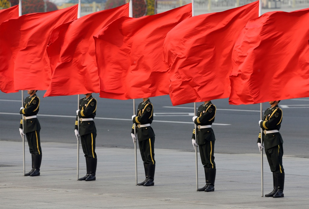 Chinese Honour Guards