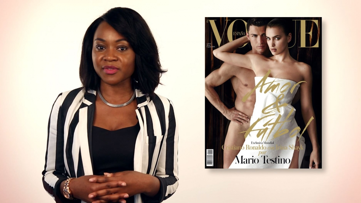 A-List Insider: Ronaldo Strips Naked for Vogue, Kimye Pick Florence over Paris for Wedding