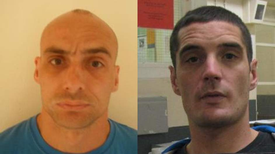 Police hunt for escaped convicts