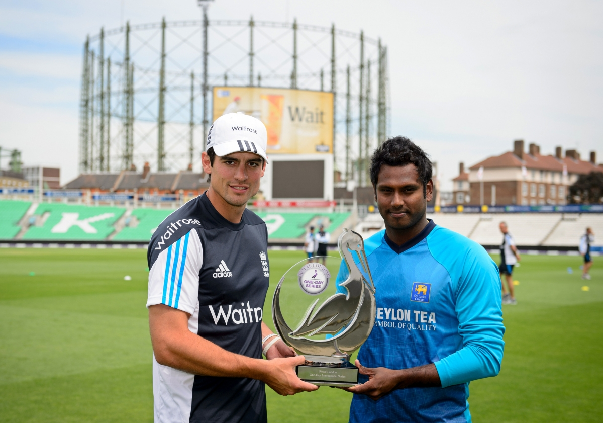 Alastair Cook - Angelo Mathews