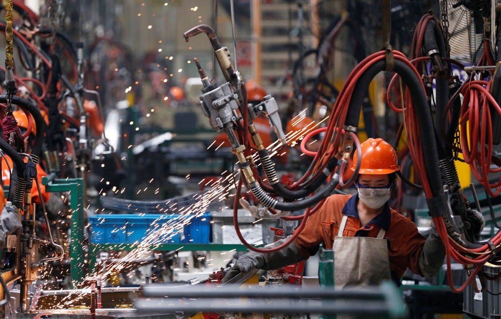 Factory Output in China and Japan Still Contracting