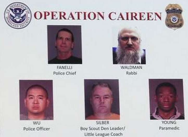 New York Rabbi and Boy Scout leader among suspects held in Operation Caireen by police