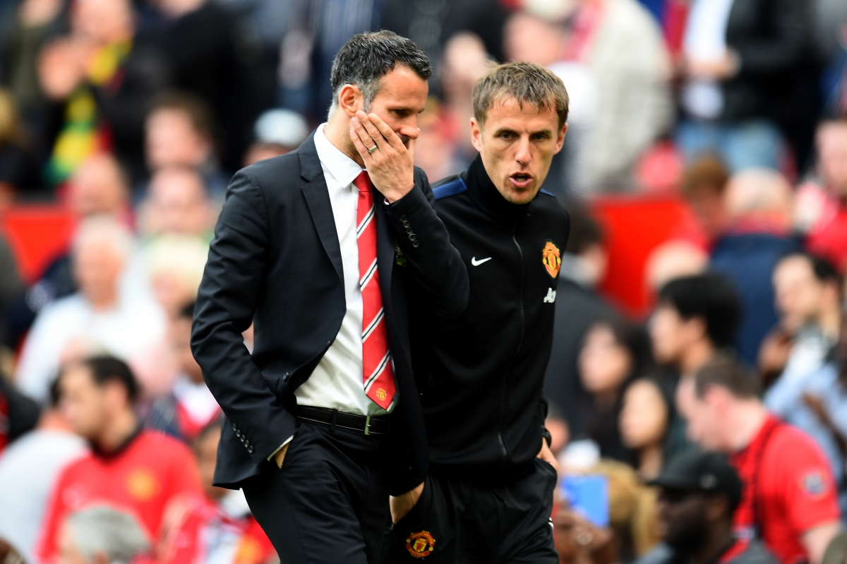 Phil Neville and Ryan Giggs