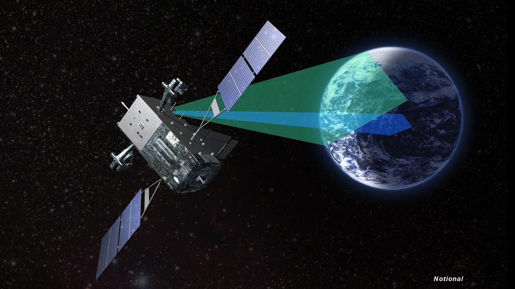 Lockheed Martin SBIRS satellite