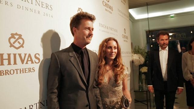 Edward Norton Toasts FilmAid at Cannes Dinner