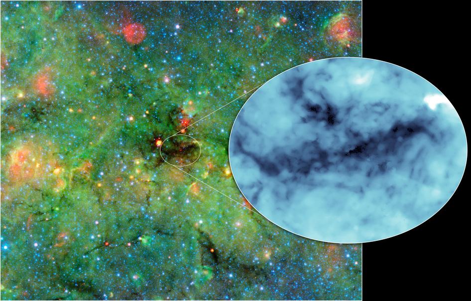 NASA photographs the darkest shadows in the galaxy