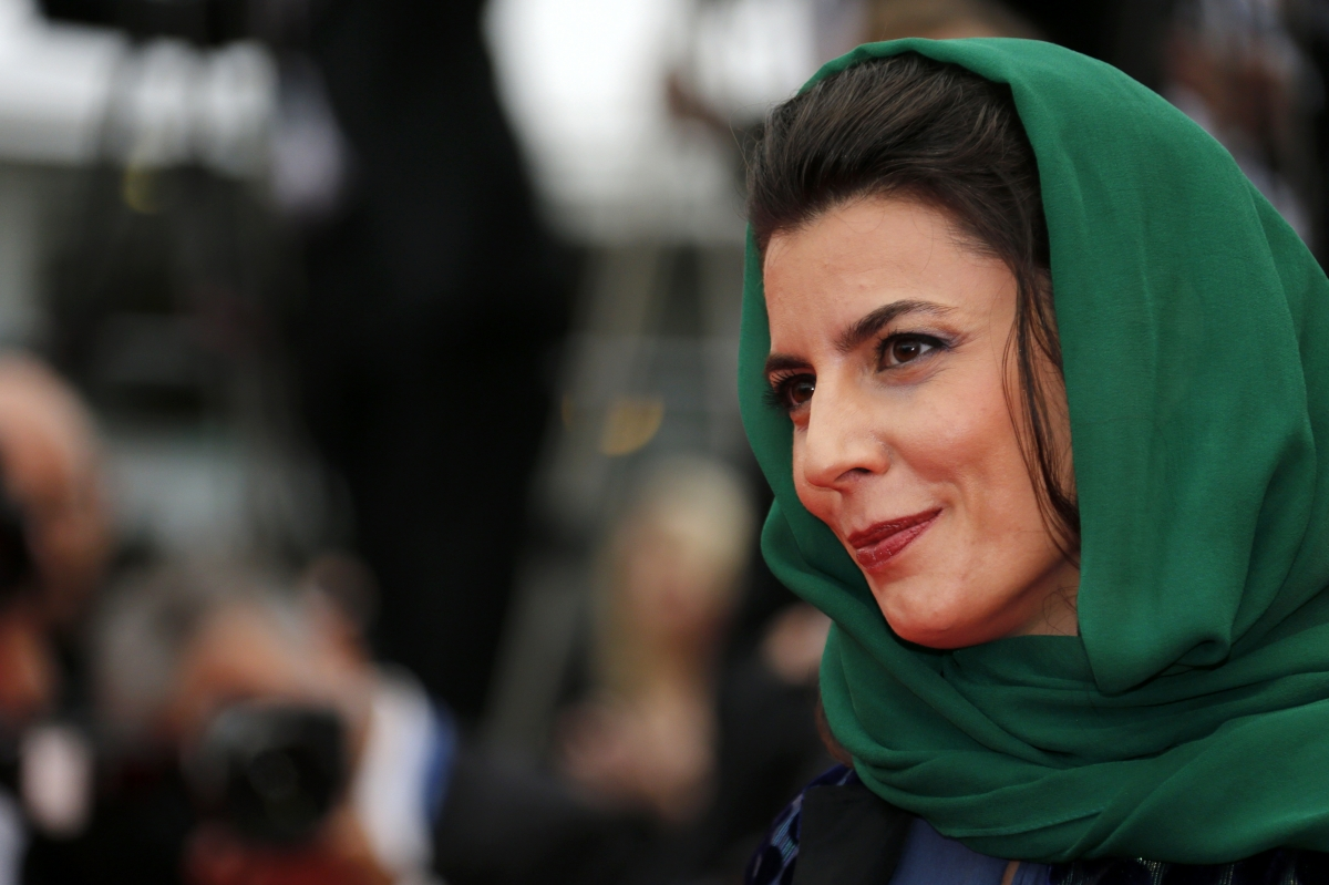 Jury member actress Leila Hatami at the 67th Cannes Film Festival in Cannes May 22, 2014.
