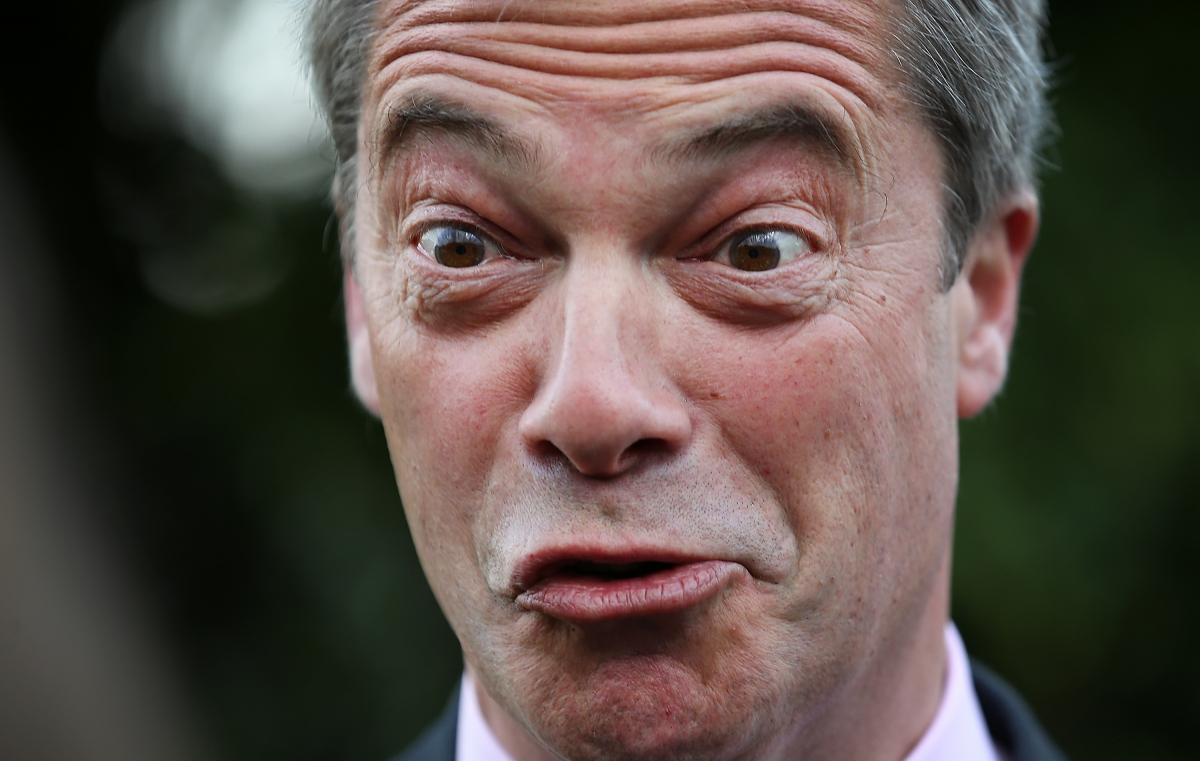 Nigel Farage has seen Ukip post big gains at local elections in England