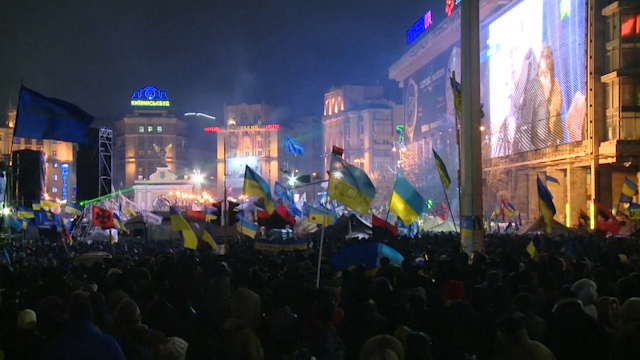 Kiev's Maidan Square Events Doc Showed in Cannes
