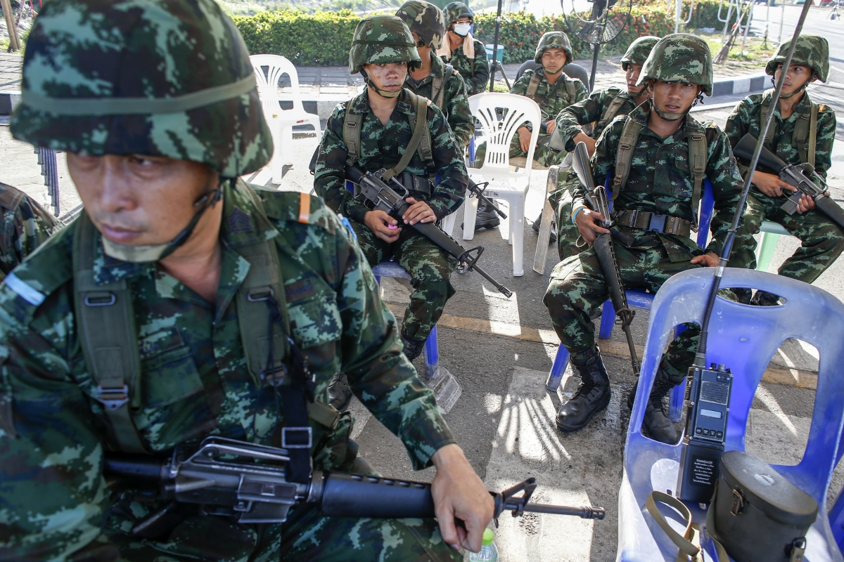 Thai coup and internet crackdown