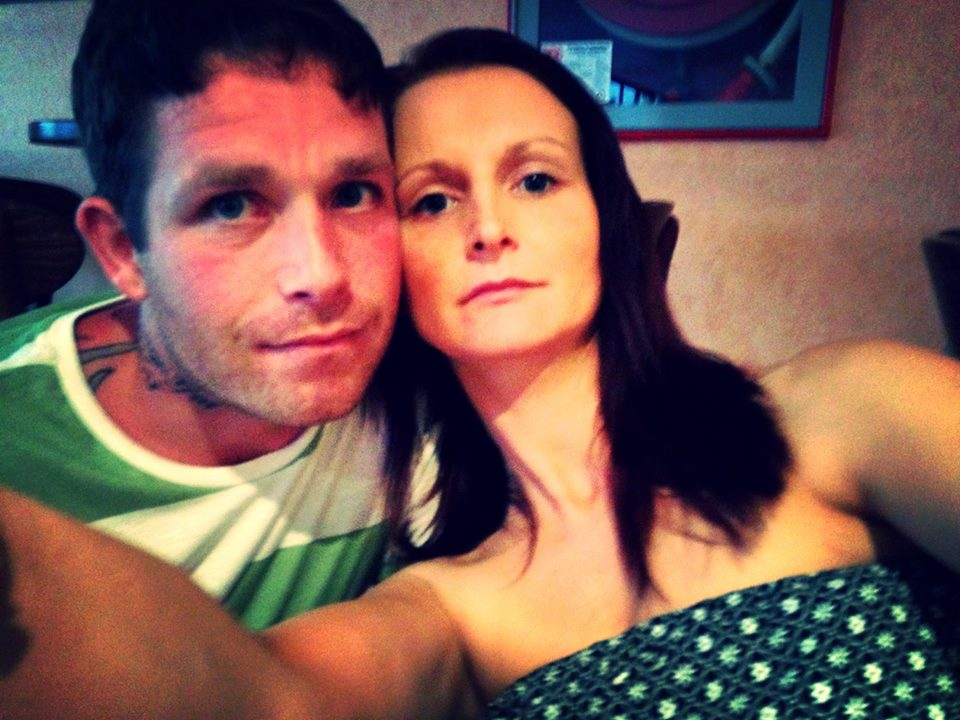 Cheryl and Robert Prudham take a selfie while abroad on holiday in Menorca.