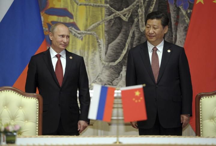 Putin Xi