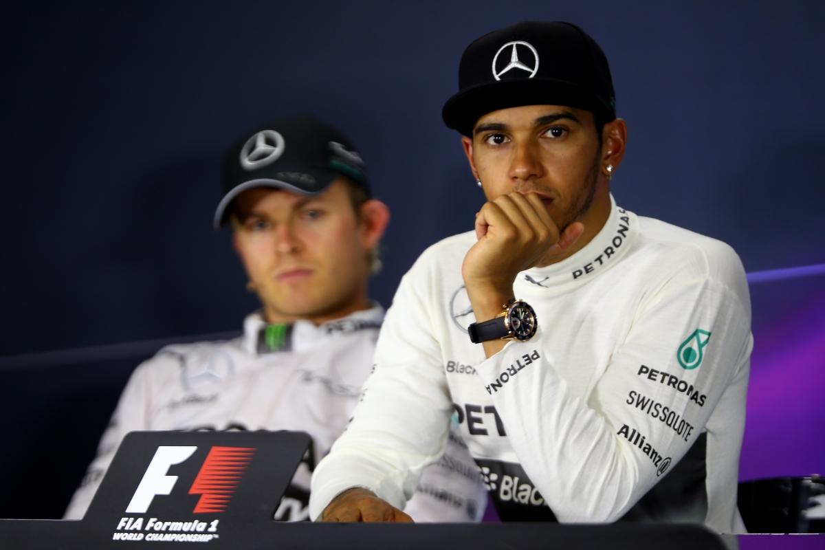 Nico Rosberg-Lewis Hamilton