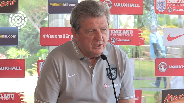Roy Hodgson Gives an Update on the England Squad