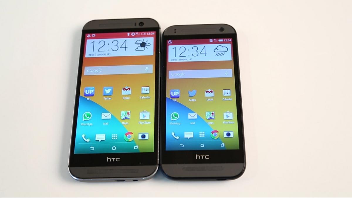 Tech Talk: HTC One M8 vs HTC One Mini 2