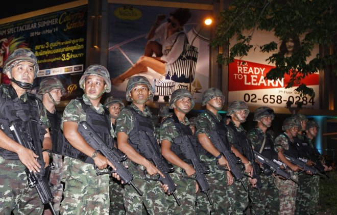 Thailand army coup