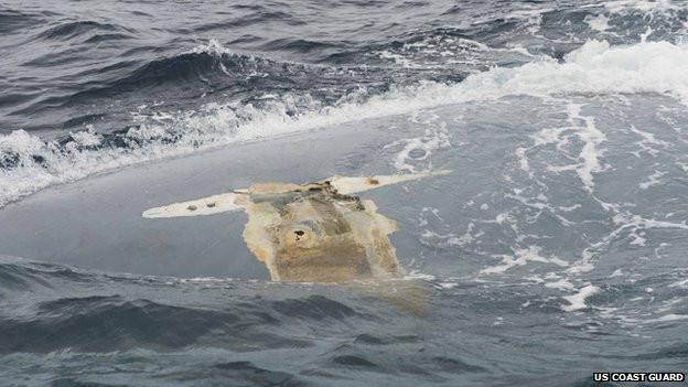 Cheeki Rafiki wreckage