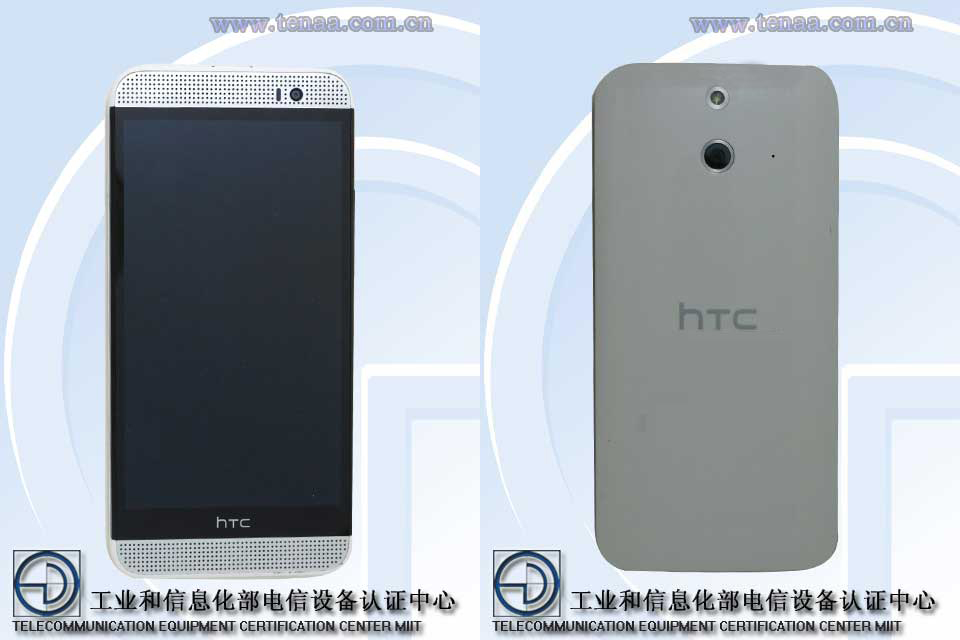 HTC One M8 Ace Leaked Pics Front back