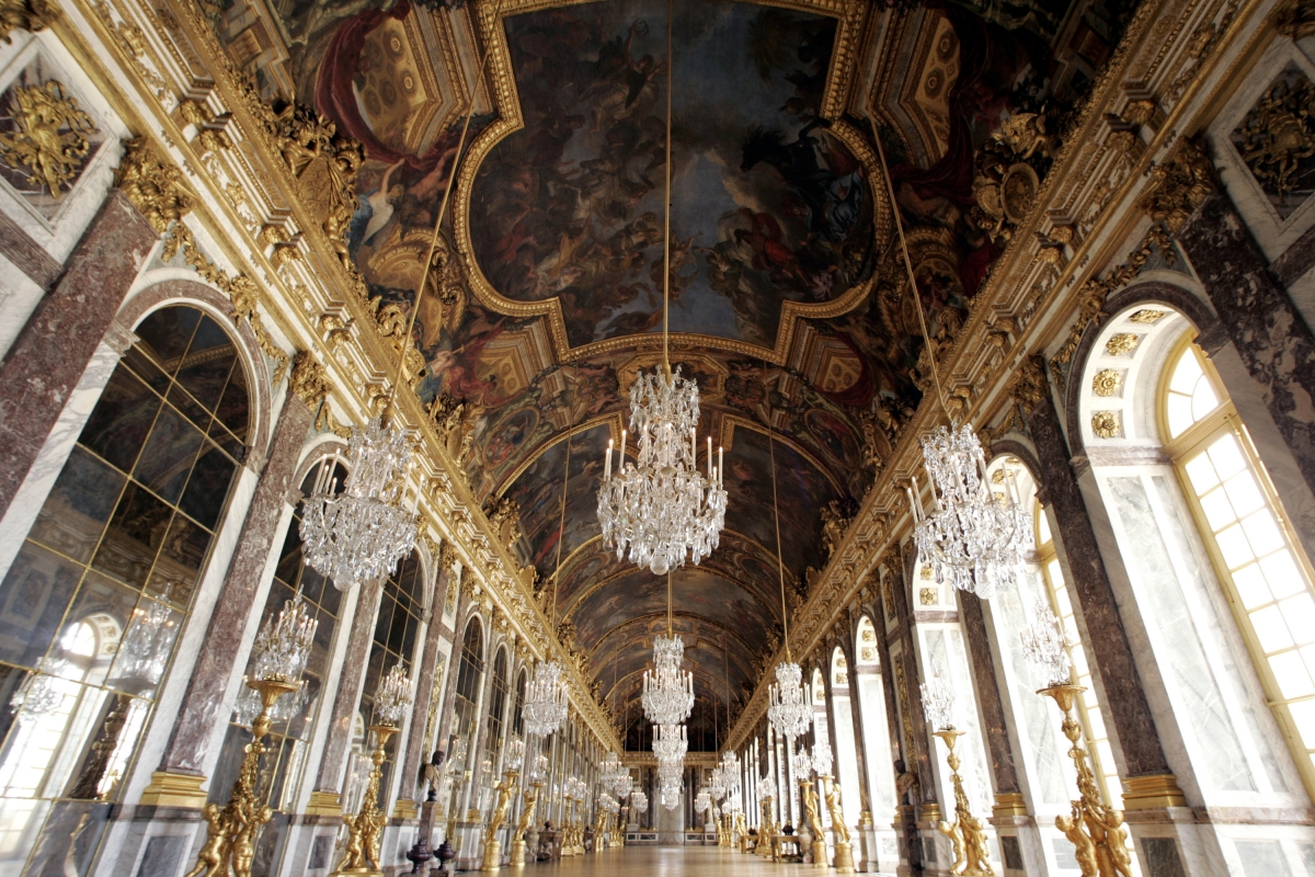 The Hall of Mirrors at the Versailles Palace near Paris was one of the venues earmarked for Kim Kardashian and Kanye West's wedding