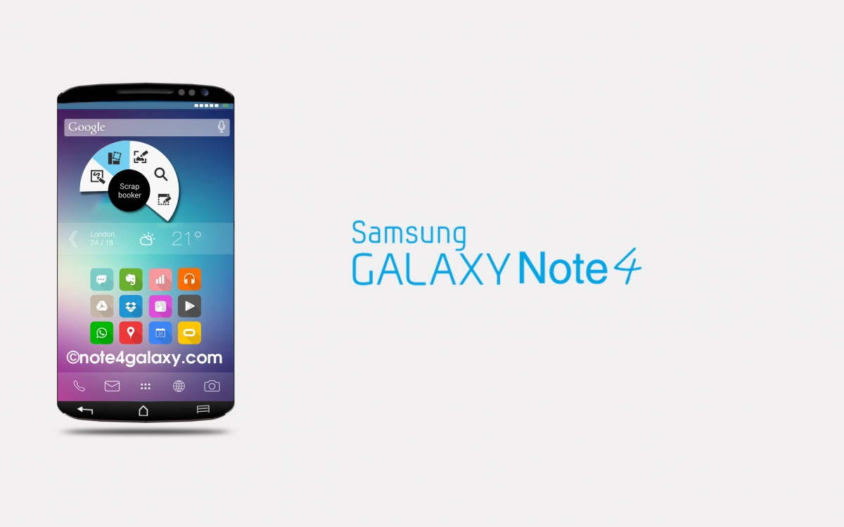 Samsung Galaxy Note 4 Details: Release Date, Price, Specs, Water Resistance, Three Sided Display And Android 4.5 Lollipop