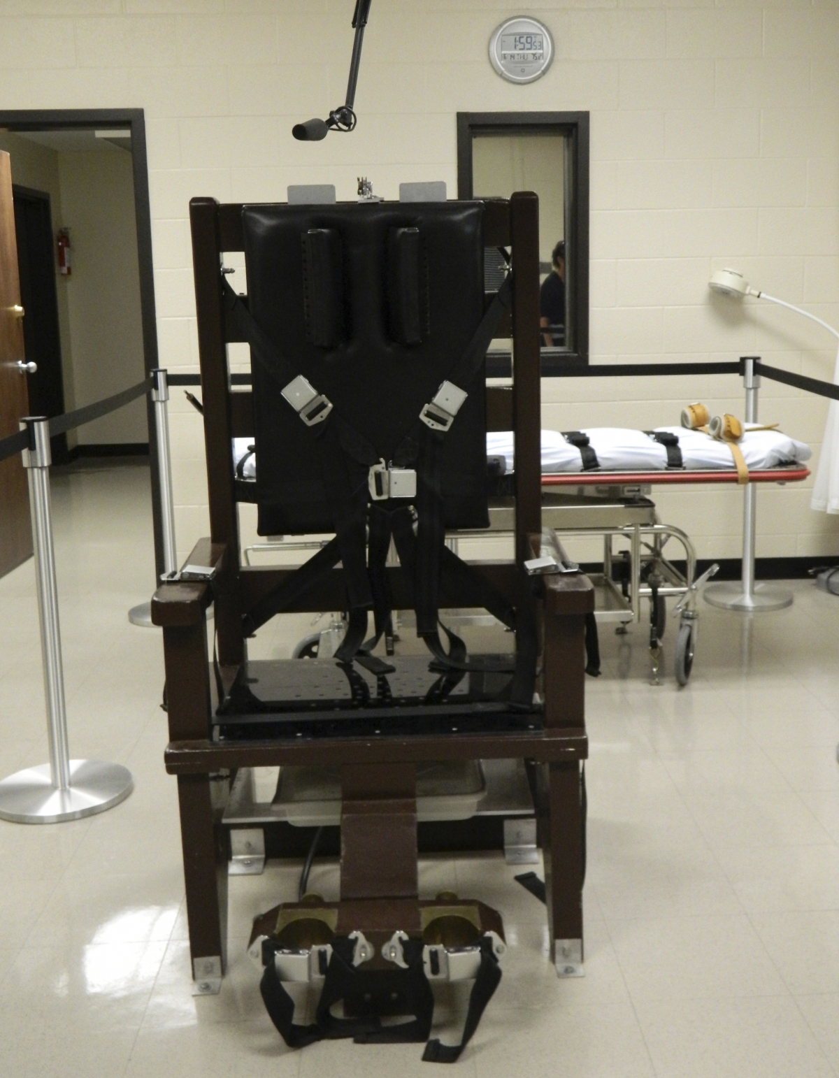 An electric chair, nicknamed
