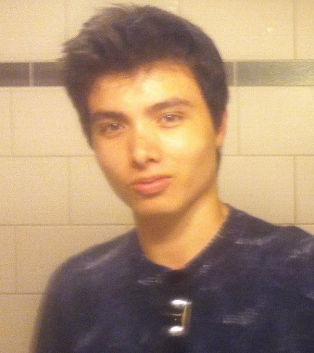 Elliot Rodger, in a picture posted on his Facebook account.