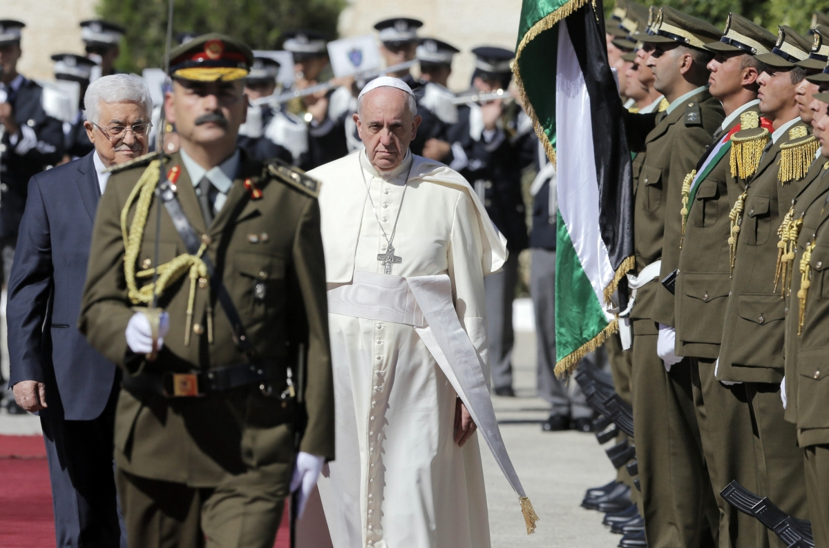 Pope Francis in Middle East tour