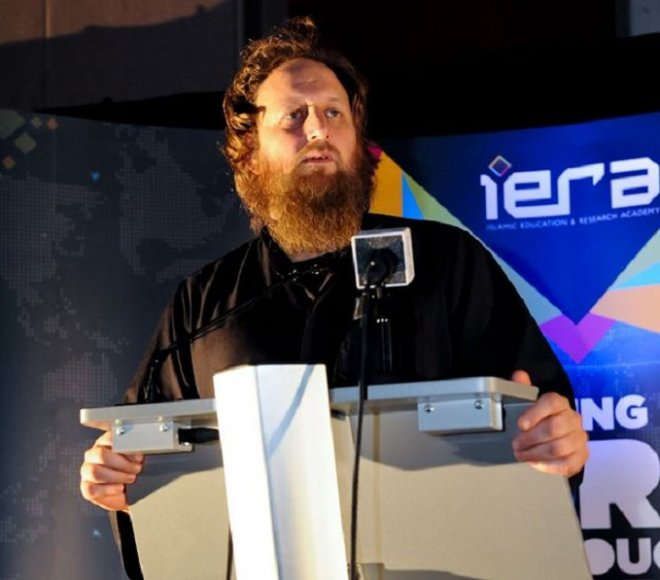 Abdurraheem Green, a founding member of iERA, has been accused of making anti-Semitic and homophobic remarks.