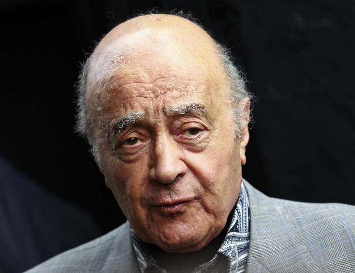 "Mohamed Al Fayed described Diana and Dodi's deaths as ""a plot, an assassin""."