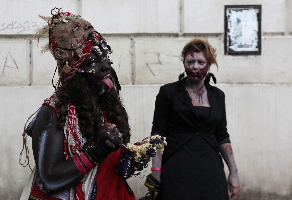 In fiction, Zombies are depicted as reanimated corpses with a hunger for human flesh, and particularly for human brains