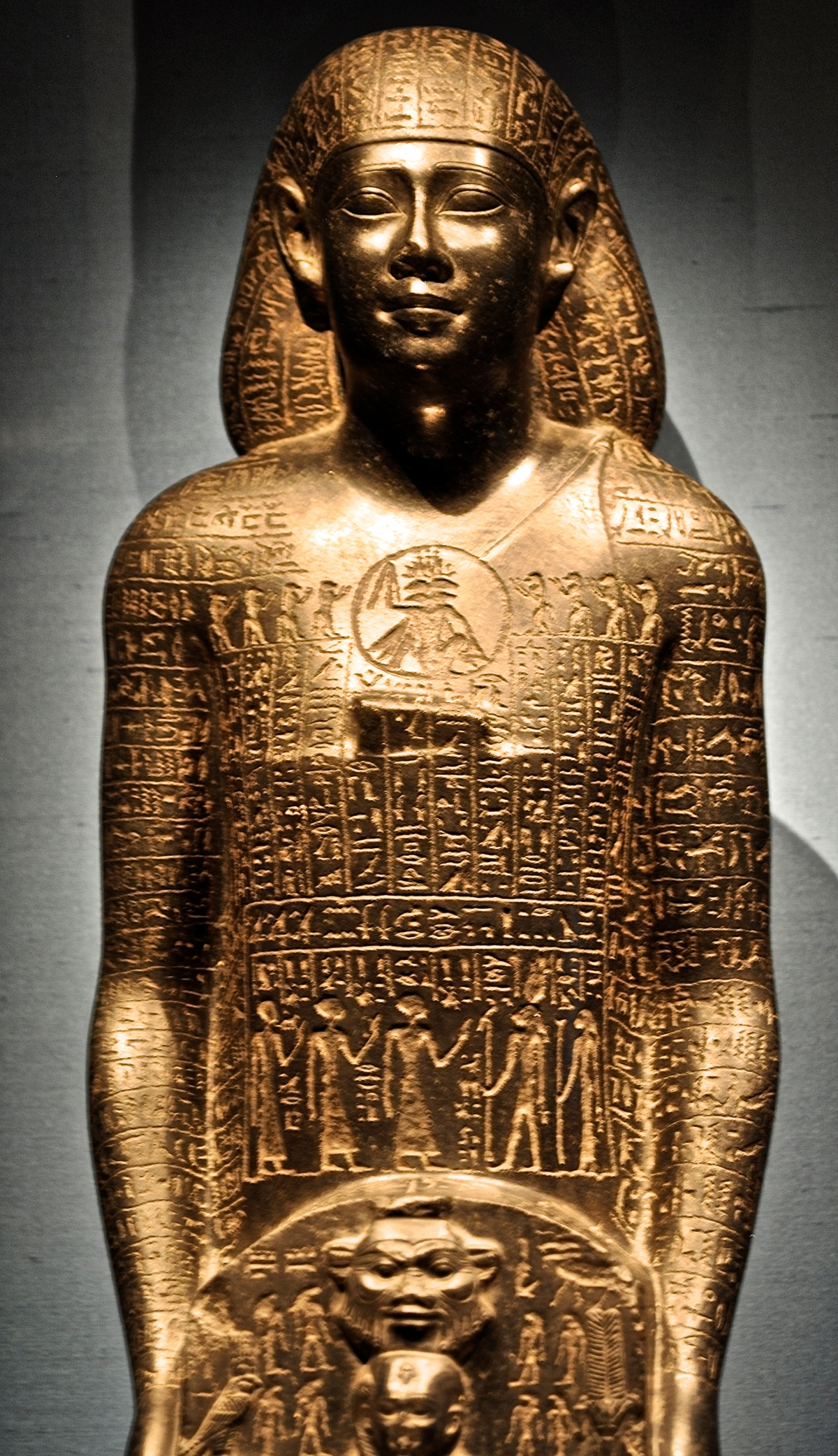 The Egyptians tended to present themselves very formally and in idealised poses