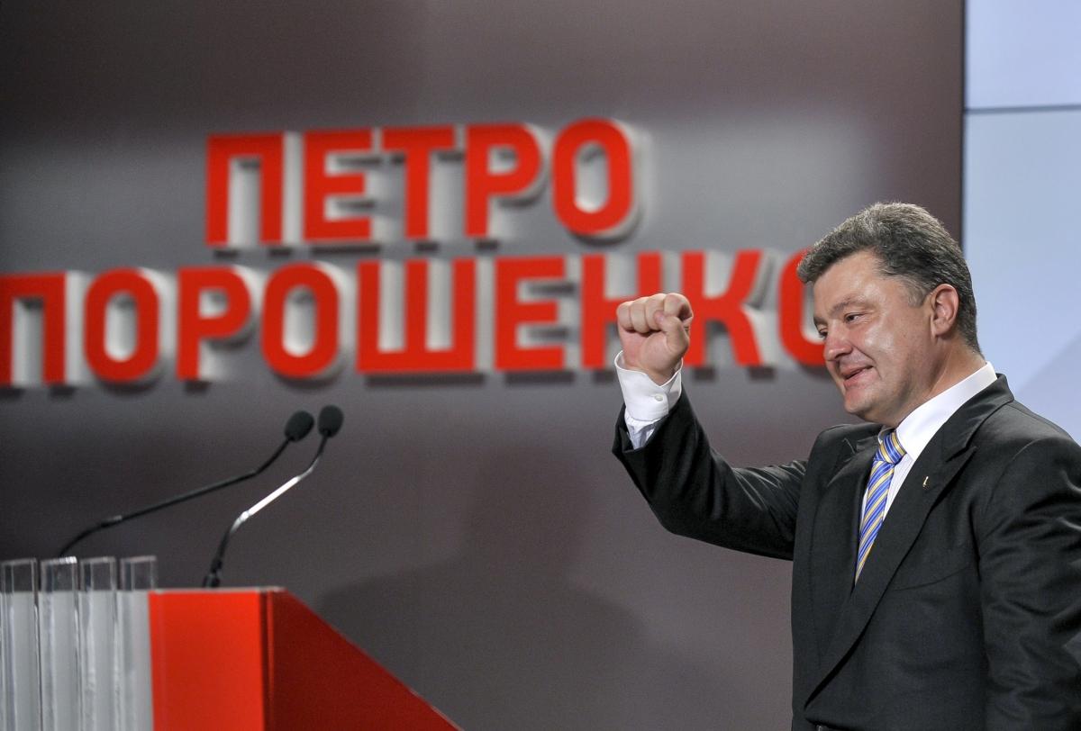 Petro Poroshenko, a pro-European businessman